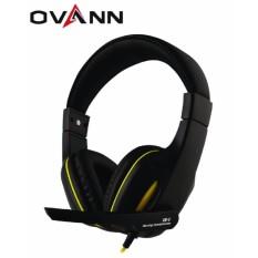 Ovann X5 Profesional Super Bass Over-ear Gaming Headset dengan Mic-Intl