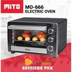 Oven Listrik Electric Oven Mito 19 L MO - 666 Promo