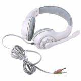 Spesifikasi Over Ear Headset Gaming Earphone Headphone Dengan Mic Stereo Bass Untuk Pc Games Intl Paling Bagus