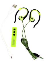 Review Terbaik Ovila Sport Bluetooth Headset Ms 808 Hijau Muda