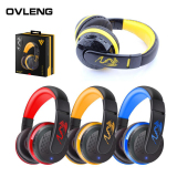 Jual Ovleng Mx666 Headphone Earphone Bluetooth Nirkabel Kuning Satu Set