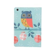 Owl Pola Flip Stand Leather Case Cover untuk IPad Mini 1 2 3-Intl
