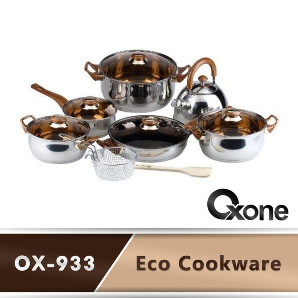 Oxone Ox 933 Eco Cookware Set Terbaru