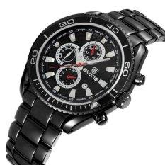 Oxoqo Ormano-jam Tangan Wanita-Pink-Watches Luxury Brand QUARTZ Watch BlackMilitary Shock Resistant Sport Jam Tangan S Masculinos Jam Baru (BL (hitam) -Int'l-Intl