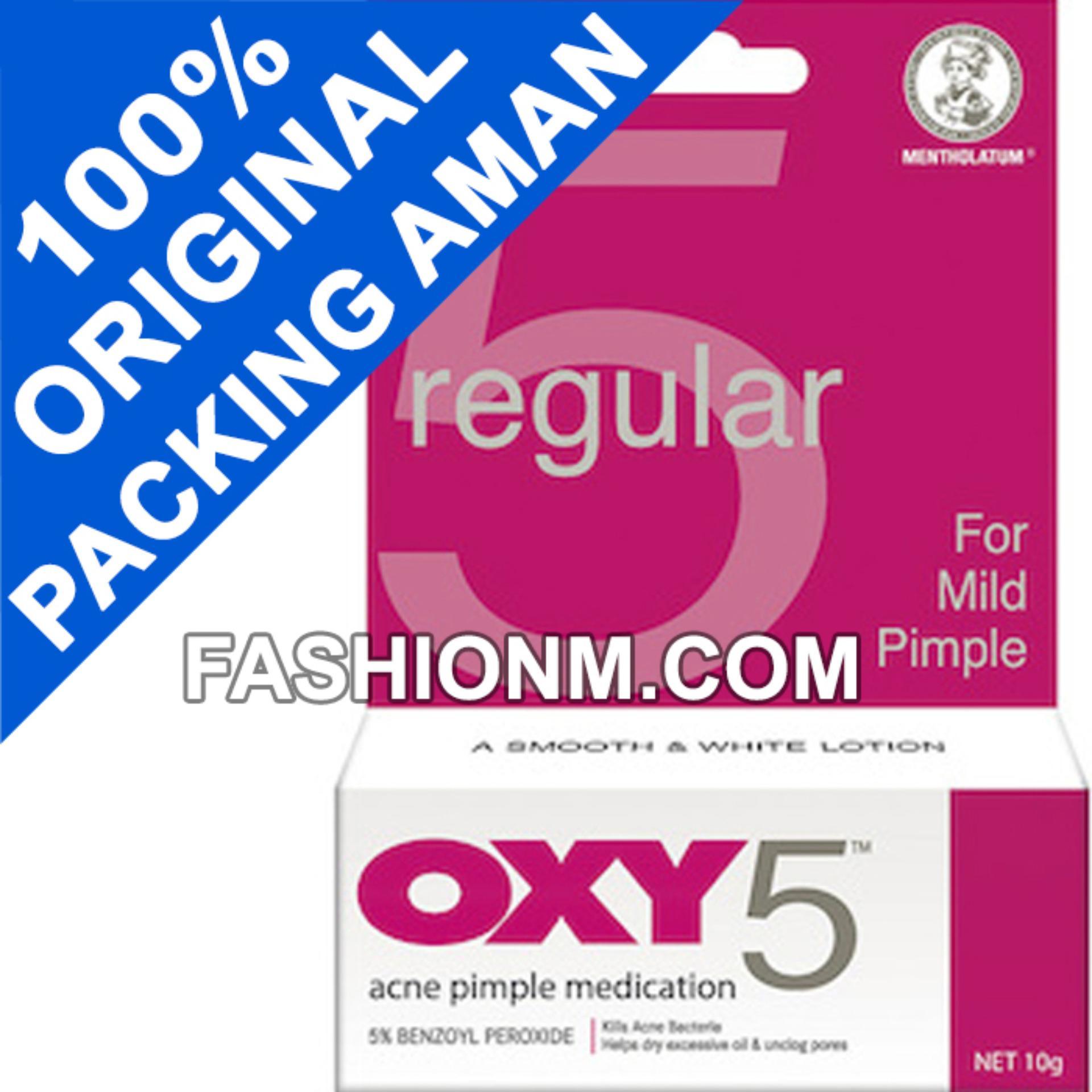 OXY 5 Acne Pimple 10g For Mild Pimple - Obat Jerawat