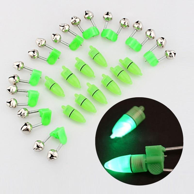 Beli P Menyala 10 Pcs Led Flash Lampu Malam Elektronik Memancing Gigitan Alarm Finder Lampu Double Bells Tip Klip Pada Fishing Rod Mengatasi Dengan Kartu Kredit
