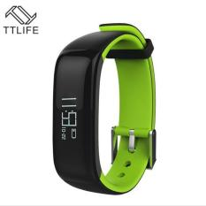 Model Gelang Pintar Bluetooth P1 Pengukur Tekanan Darah Monitor Denyut Jantung Jam Tangan Anti Air Ip67 Gelang Pintar 86 Layar Oled Intl Terbaru