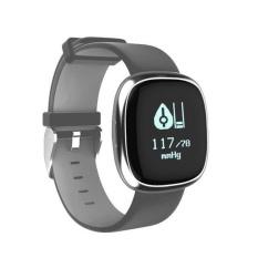 P2 Gelang Smart Jam Heart Rate Tekanan Darah Monitor Detak Jantung Bluetooth IP67 Air Bukti Olahraga Gelang untuk Android dan IOS-Intl