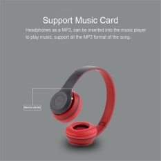 Jual P47 Folding Wifi Nirkabel Bluetooth 4 1 Headphone Headset Untuk Smart Phone Tablet Intl Di Bawah Harga