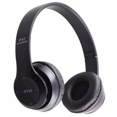 Review Pada P47 Headphone Wireless Beat Hitam