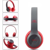 Beli P47 Wireless Headphone Bluetooth V4 1 3D Surround Merah Cicil
