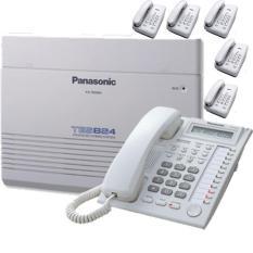 PABX PBX Telepon KX-TES824 + KX-T7730 + AS7202