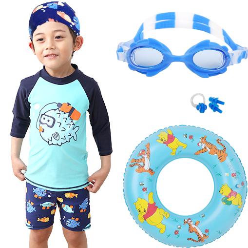 Spesifikasi Pakaian Renang Anak Terpisah Lengan Panjang Menghangatkan Satu Set Tiga Helai 6088 53 Cermin Biru Telinga Hidung Berenang Lap 6088 53 Cermin Biru Telinga Hidung Berenang Lap Oem