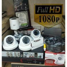 Paket 4ch 1080 oem hikvision real 2megapixel murah meriah