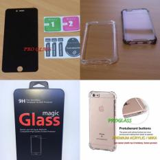 PAKET ANTISPY Tempered Glass + Acrylic Anticrack Case IPHONE 5 / 5s / se