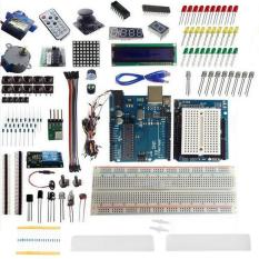 Paket Arduino Uno R3 Starter Kit 1602 Lcd Dot Matrix Breadboard Led Resistor Dot Matrix Arduino Diskon 30