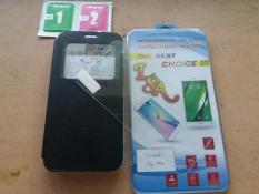 Paket Cover + Tempered Glass Coolpad Sky Mini Softcase Bonus TG