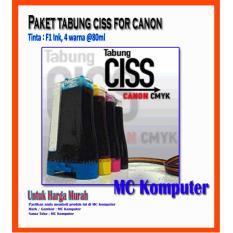 Harga Paket F1 Ink Canon Plus Tabung Transfaran Di Jawa Barat