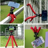 Jual Beli Paket Fleksibel Gorilla Pod Spider Flexible Mini Tripod Plus Holder Hp Di Indonesia
