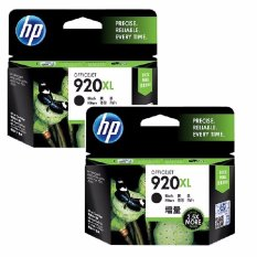 [Paket Hemat] 2Pcs Tinta HP 920XL Black Officejet Ink Cartridge - Hitam