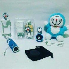Spesifikasi Paket Hemat Special Doraemon 4In Powerbank Superwide Charger Tongsis Terbaru