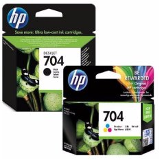 Review Paket Hemat Tinta Hp 704 Black Tri Color Original Multiwarna Di Indonesia