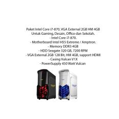 Harga Paket Intel Core I7 870 Vga External 2Gb Hm 4Gb Seken