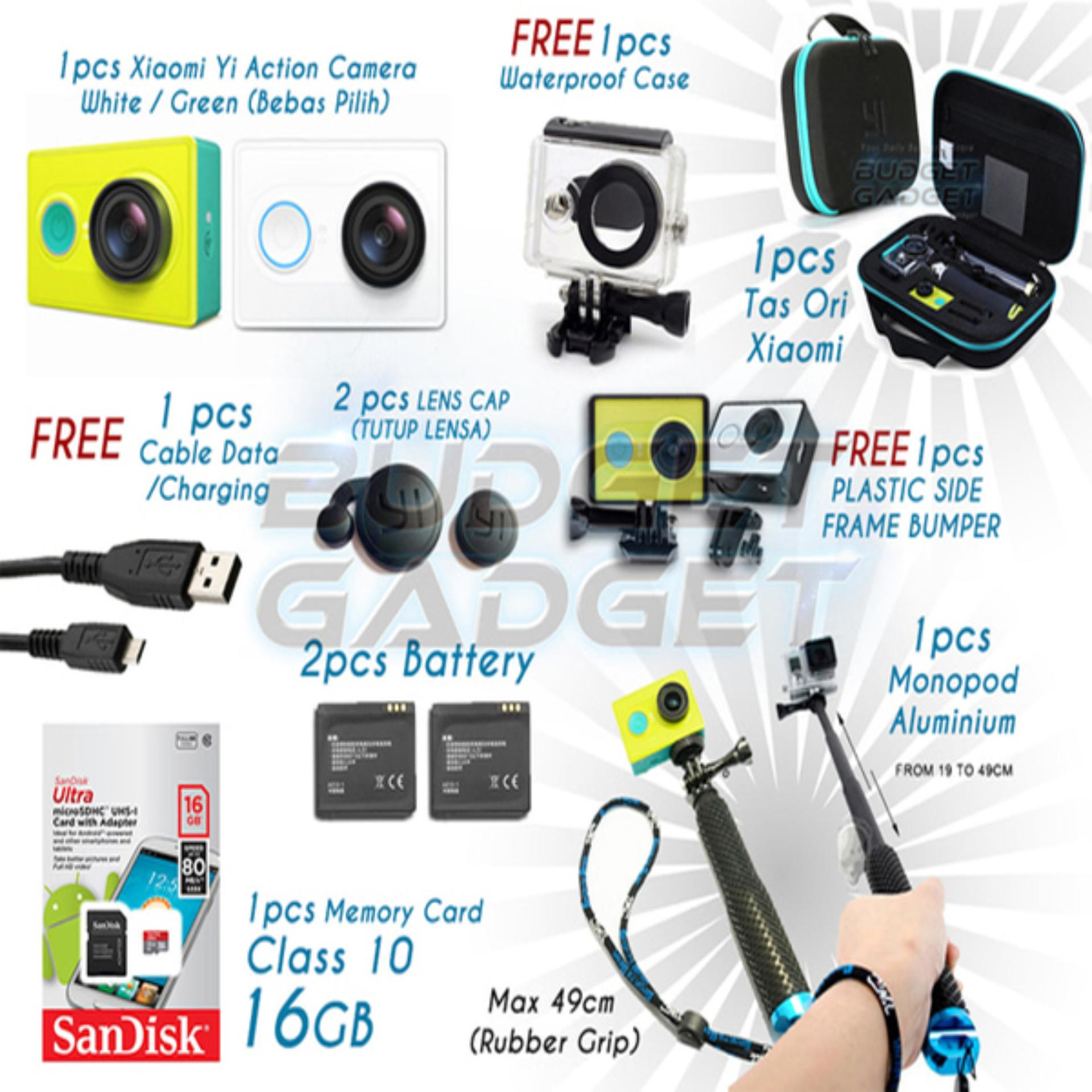 Paket Lengkap Terjangkau Xiaomi Yi Camera