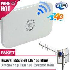 Harga Paket Modem Wifi Huawei Vodafone R216 E5573 4G Lte 150Mbps Antena Yagi Grid Txr185 Yang Murah