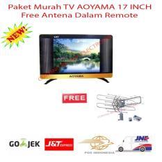 Paket Murah TV LED AOYAMA 17 INCH FREE ANTENA DALAM REMOTE