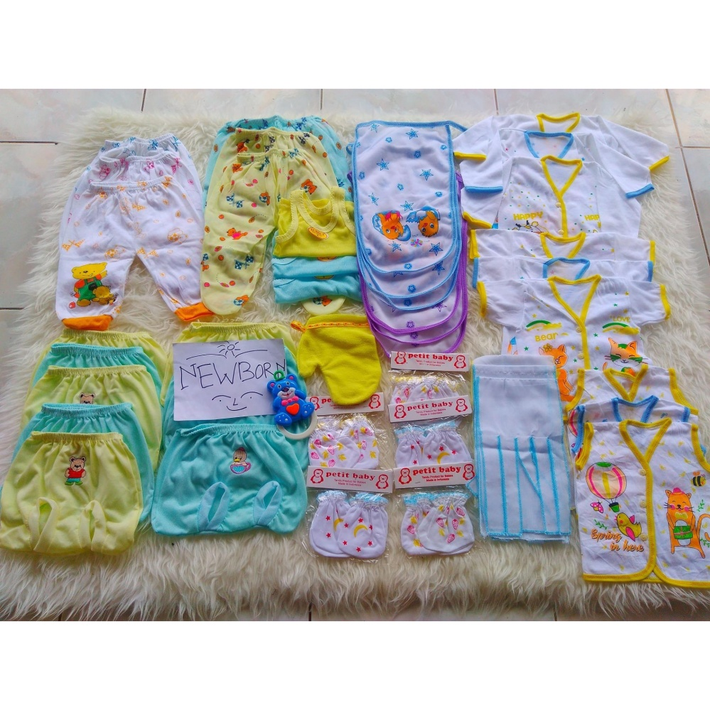 Paket Perlengkapan Bayi Laki Laki Newborn Bayi Baru Lahir Murah Hemat Jawa Tengah Diskon 50
