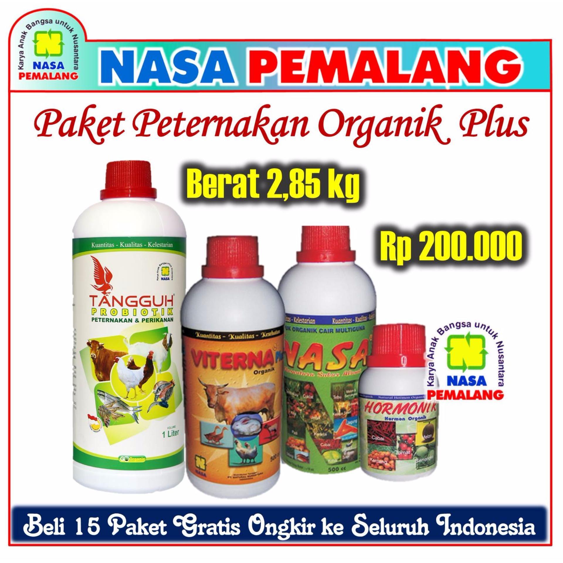Ulasan Paket Peternakan Organik Nasa Plus Tangguh Viterna Pocnasa Hormonik