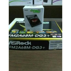 Paket Processor AMD A4 6300 Box dan Motherboard Asrock FM2A68M-DG3 Plus