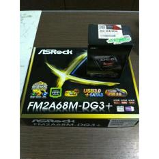 Paket Processor AMD A6 6400K Box dan Motherboard Asrock FM2A68M-DG3 Plus