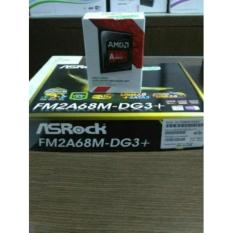 Paket Processor AMD A8 7600 Box dan Motherboard Asrock FM2A68M-DG3 Plus
