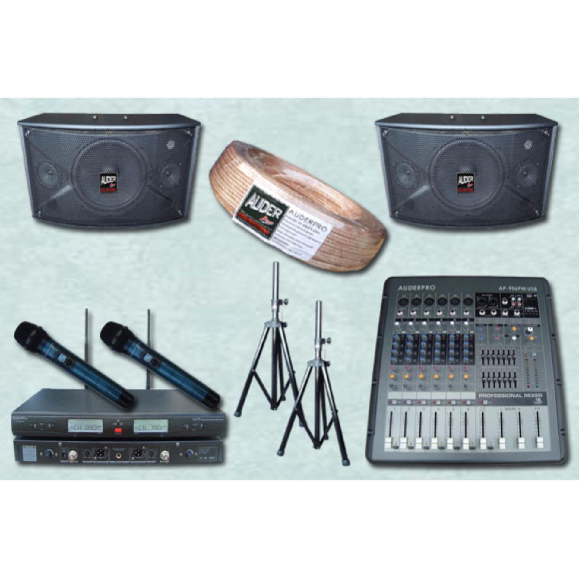 Paket Sound System Rapat Kecil 1 Auderpro Auderpro Diskon 30