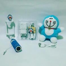 Paket Special Karakter Doraemon 3in ( Powerbank Boneka + Charger + Tongsis )