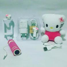 Jual Beli Paket Special Karakter Hello Kity3In Powerbank Boneka Charger Tongsis