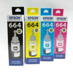 Diskon Tinta Epson 664 Original Set 4 Warna