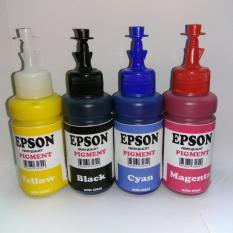 Daftar Harga Paket Tinta Epson Pigment 4 Warna Photo Quality Epson