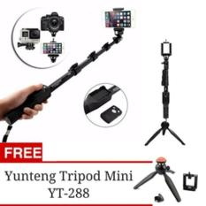 Paket Tongsis Yunteng YT 1288 dan Mini Tripod Yunteng YT 228