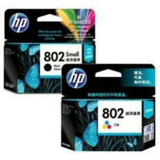 Paketan Hp Tinta Ink Cartridge 802Small Black Color Diskon Indonesia
