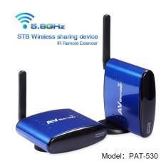 Spesifikasi Pakite Pat 530 200 M Multi Saluran 5 8 Ghz Audio Video Perangkat Berbagi Nirkabel Steker As Internasional Yang Bagus