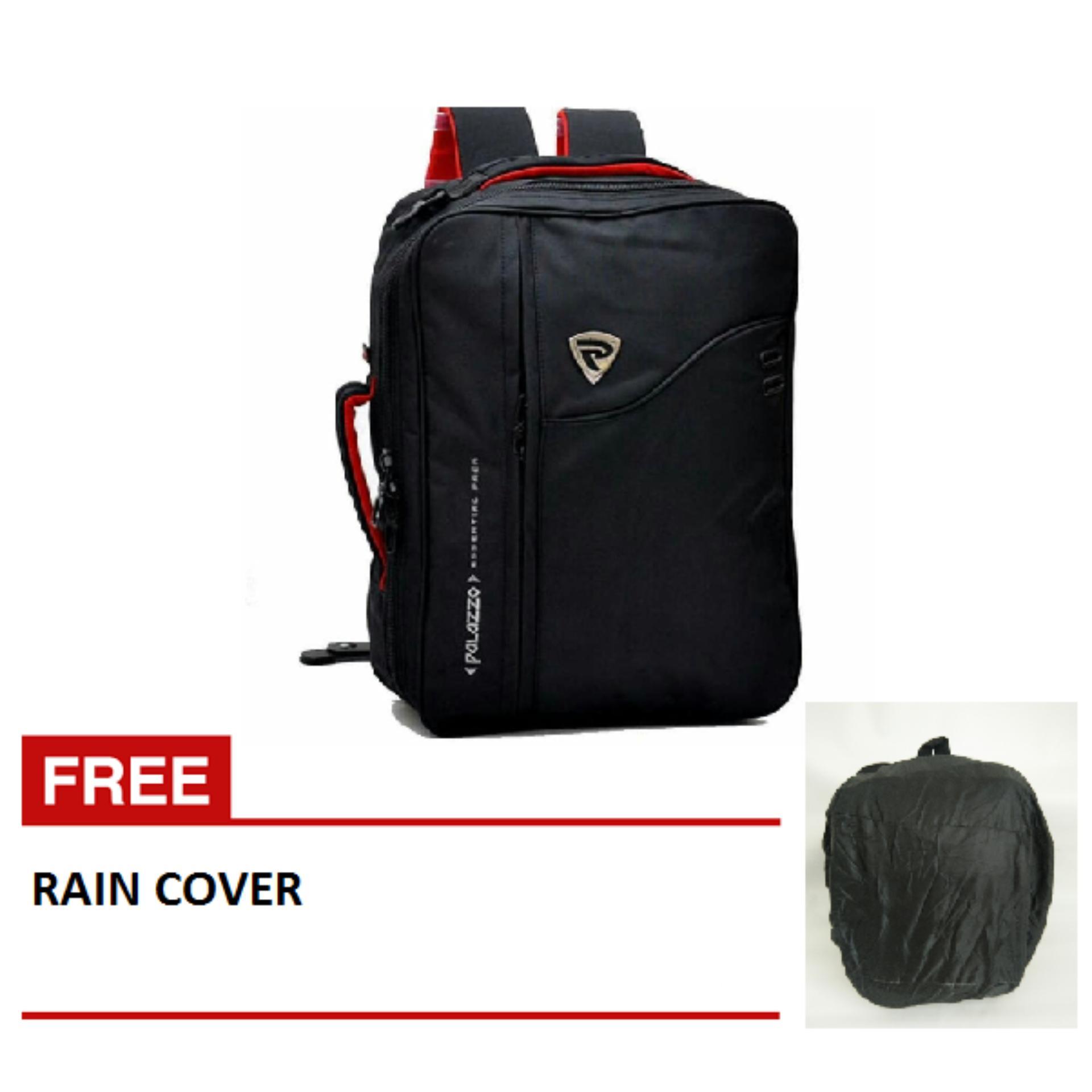Harga Hemat Palazzo Tas 3In1 Ransel Selempang Jinjing 34685 Raincoat Jas Hujan Hitam