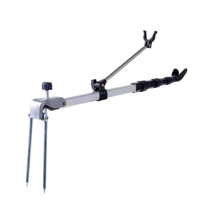 PAlight joran Rod dudukan braket berdiri sudut yang dapat memancing disesuaikan teleskopis alat memancing Rod dudukan tangan - International