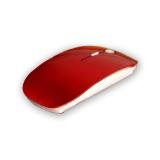 Harga Palight Optik 2 Nirkabel 4G Penerima Ultra Tipis Mouse Merah Yang Murah Dan Bagus