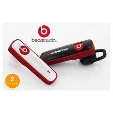 Paling Laku Beats Bluetooth HeadSet Stereo headphone untuk iPhone Samsung (hitam)