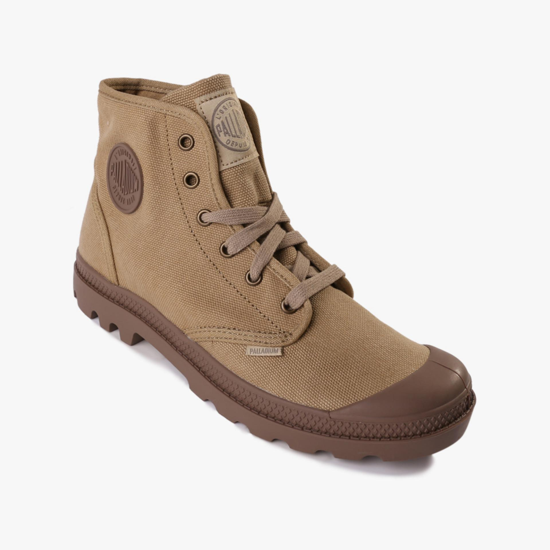 Palladium Pampa Hi Men s Boots Shoes - Cokelat  6156ec4a34