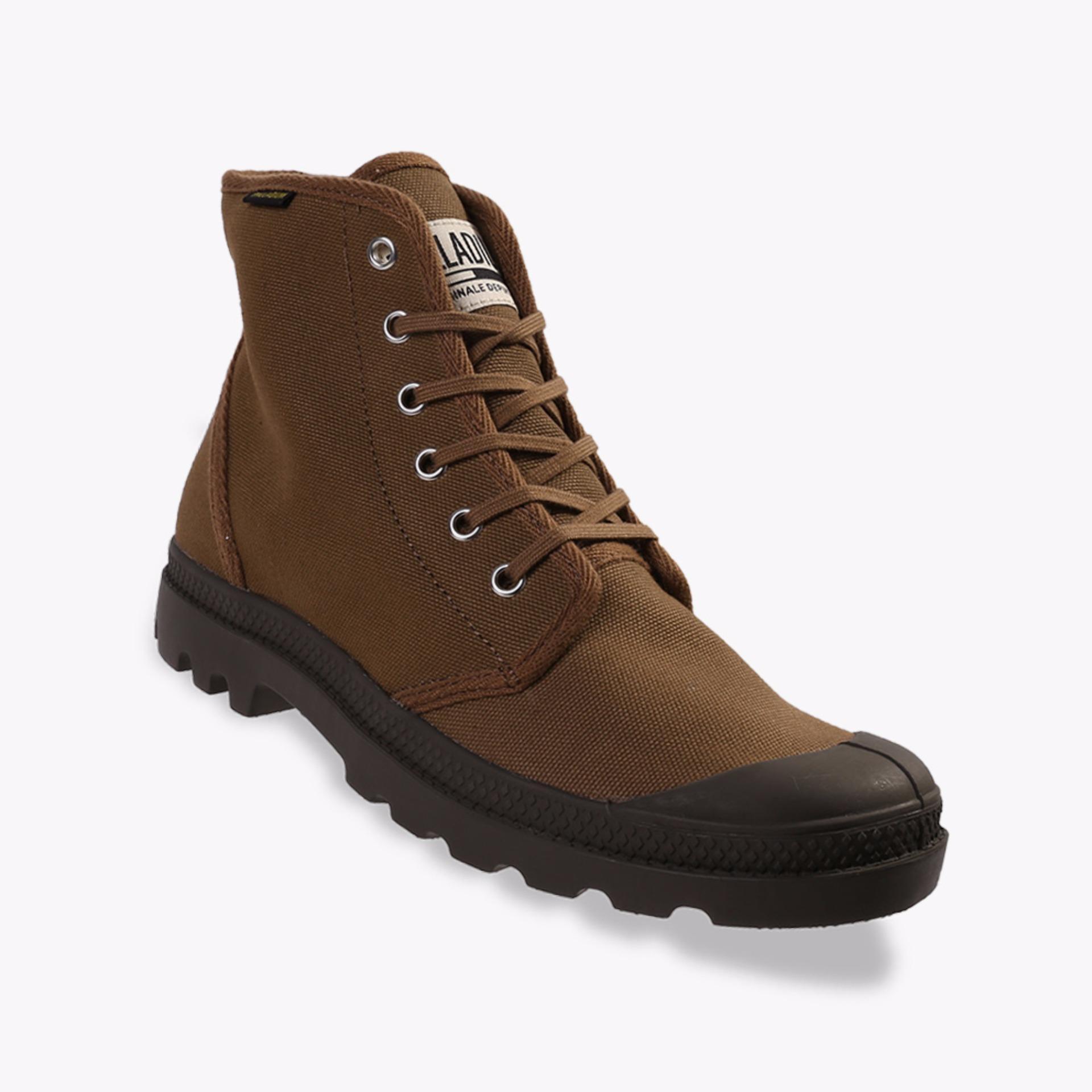 Palladium Pampa Hi Originale Unisex Boots Shoes - Cokelat
