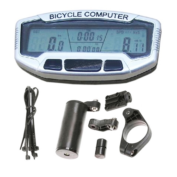 Beli Panas Tahan Lama Sepeda Digital Lcd Komputer Odometer Jam Speedometer Sd558A Internasional Oem Online